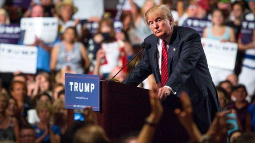 """Los miembros del """"alt-right"""" expresan su favoritismo por el candidato republicano Donald Trump para las elecciones de noviembre de este año."""