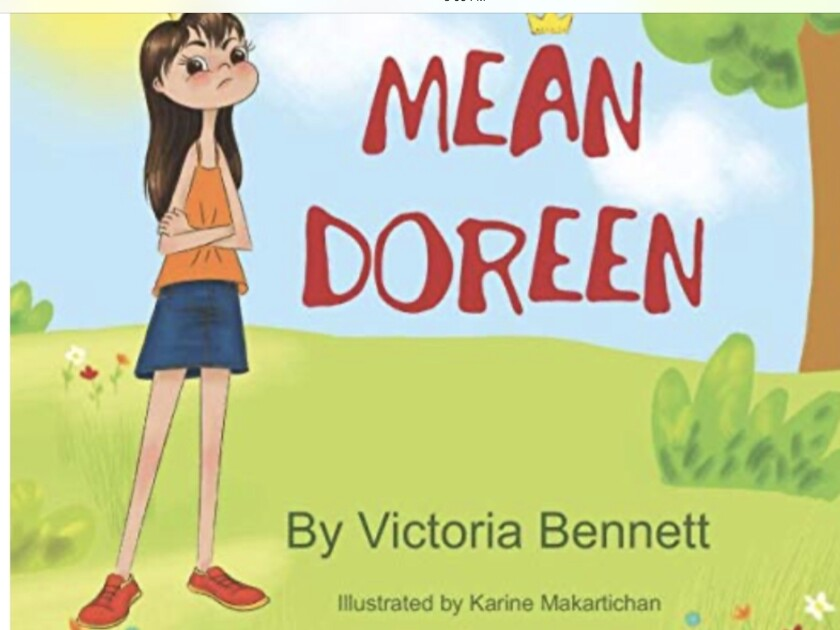 Carmel Valley's Victoria Bennett has published a new children's book.