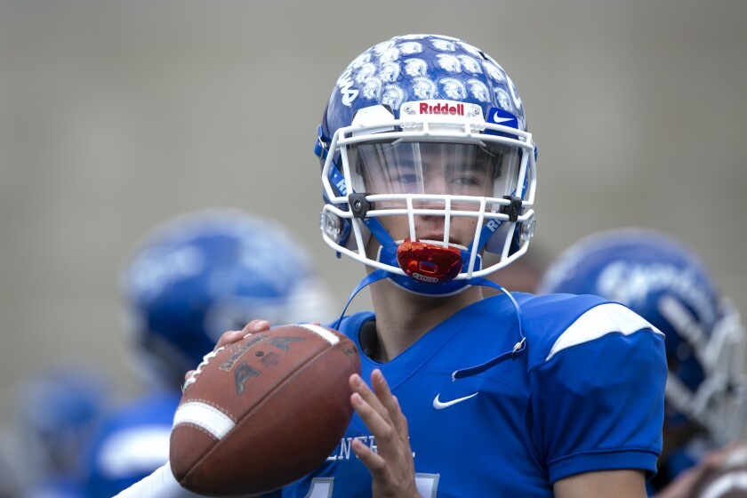Central quarterback Deniro Osuna has 5,313 total yards and 53 TDs in two varsity years.