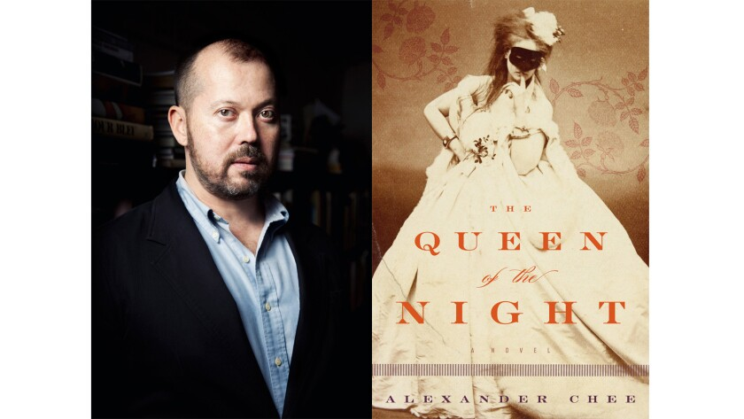 """Alexander Chee, author of the book """"The Queen of the Night."""""""