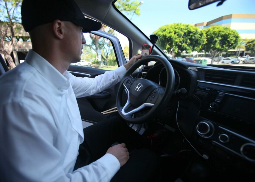 """""""People were like, hey, here's a dollar,"""" Uber driver Bill Tesauro said. """"They're just feeling guilty. I know people are really being truthful when they give $5."""""""