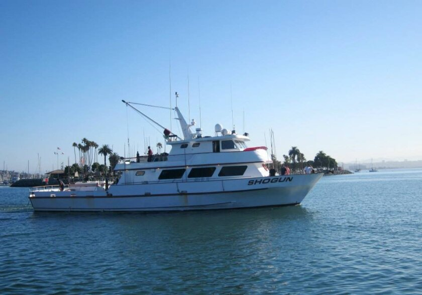 Ted Dunn and Frank LoPreste's Shogun is being investigated by the Department of Fish and Wildlife after the boat returned from a 2 1/2-day trip to Mexican waters on Monday.