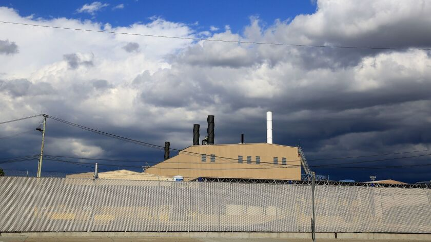 The Exide Technologies battery recycling plant in Vernon, which closed permanently in 2015.