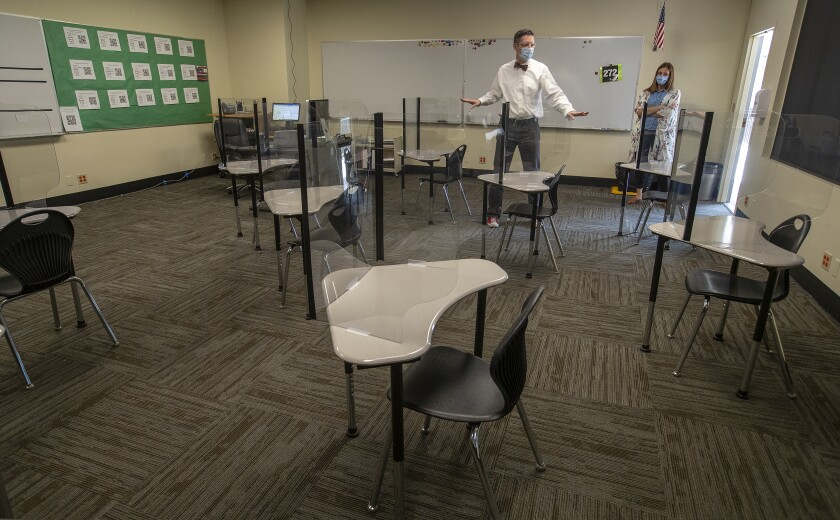 A classroom in the age of COVID-19?