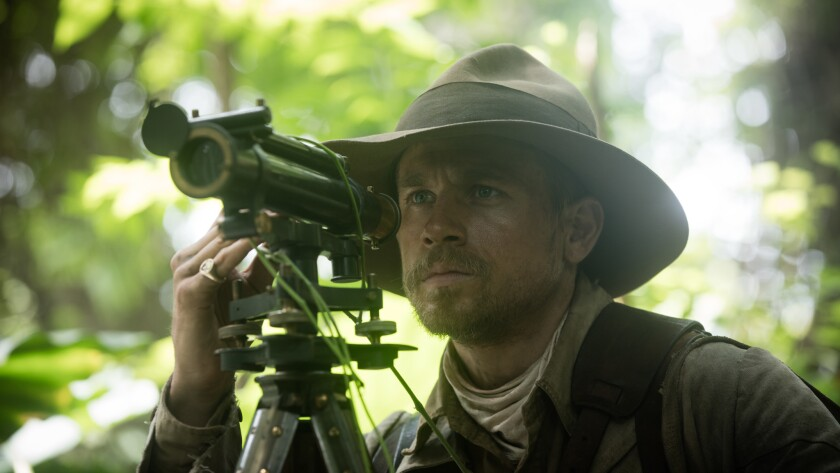 "Charlie Hunnam stars as Percy Fawcett in director James Gray's ""The Lost City of Z."""