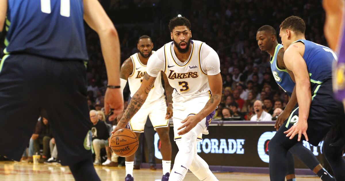 Coming off loss, Lakers face another tough test against Nuggets - Los Angeles Times
