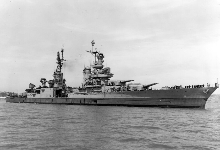 The heavy cruiser Indianapolis was a mighty warship, but she sank in just 12 minutes.