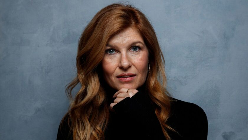 """Actress Connie Britton, photographed in the L.A. Times photo studio during the Sundance Film Festival in 2017, stars in the Fox drama """"9-1-1"""" from Ryan Murphy."""