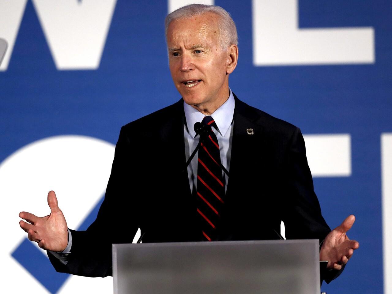 Former Vice President Joe Biden of Delaware