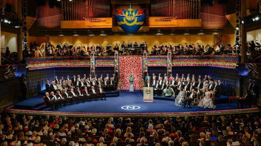 Nobel Prize in Literature 2018 will not be awarded, Stockholm, Sweden - 10 Dec 2016
