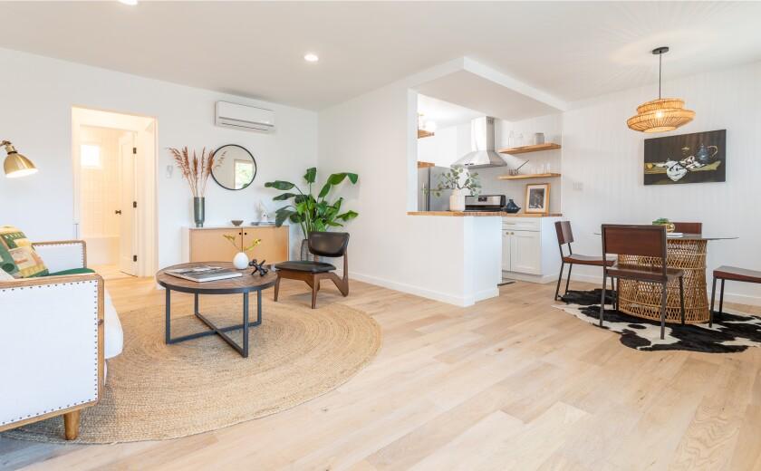 An Echo Park condominium on the market for $399,000.