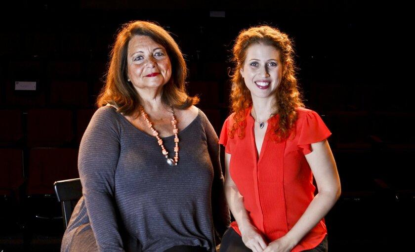 Angelina Réaux (left) and Rena Strober.
