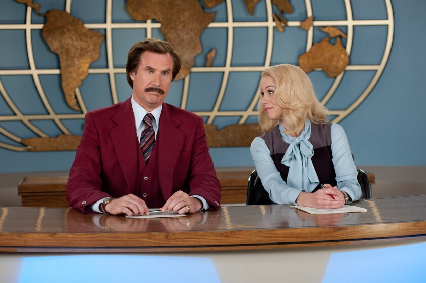 """""""Anchorman 2: The Legend Continues"""" had a disappointing weekend at the box office."""