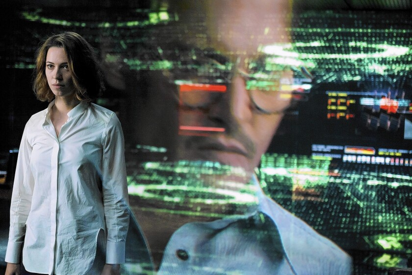 'Transcendence'? Not in this Johnny Depp sci-fi thriller ...