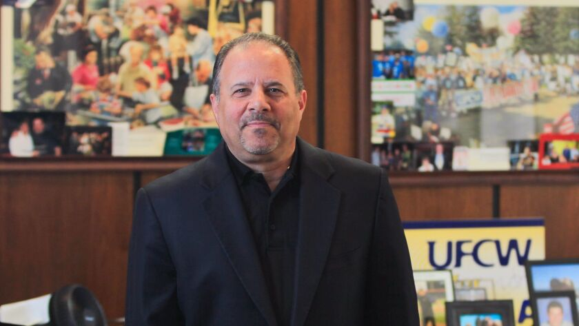 Mickey Kasparian, president of United Food and Commercial Workers Local 135,