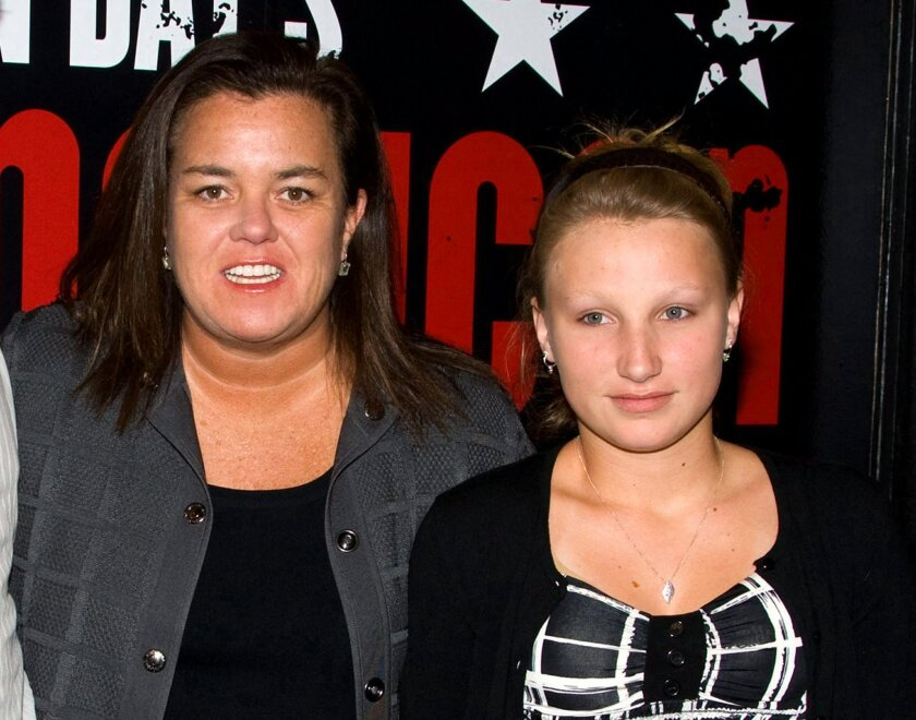 "FILE - In this April 20, 2010 file photo, Rosie O'Donnell, left, poses with her daughter Chelsea at the opening night performance of the Broadway musical ""American Idiot"" in New York. Police are searching for Rosie O'Donnell's 17-year-old daughter Chelsea, who has not been seen since leaving the family's home north of New York City last Tuesday, Aug. 11, 2015. O'Donnell tweeted that her daughter may be in New York City, which is about 25 miles south of her home in Nyack. (AP Photo/Charles Sykes, File)"