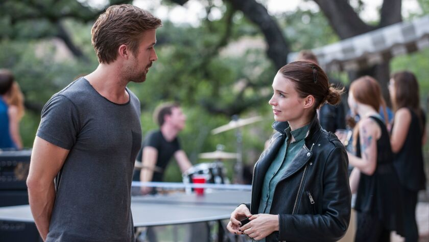 Ryan Gosling and Rooney Mara in 'Song to Song'