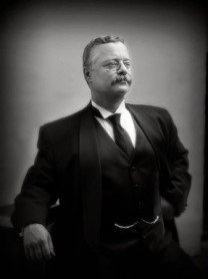 Joe Weigand portrays Teddy Roosevelt at 6:30 p.m. Oct. 16. MarkGlennStudio