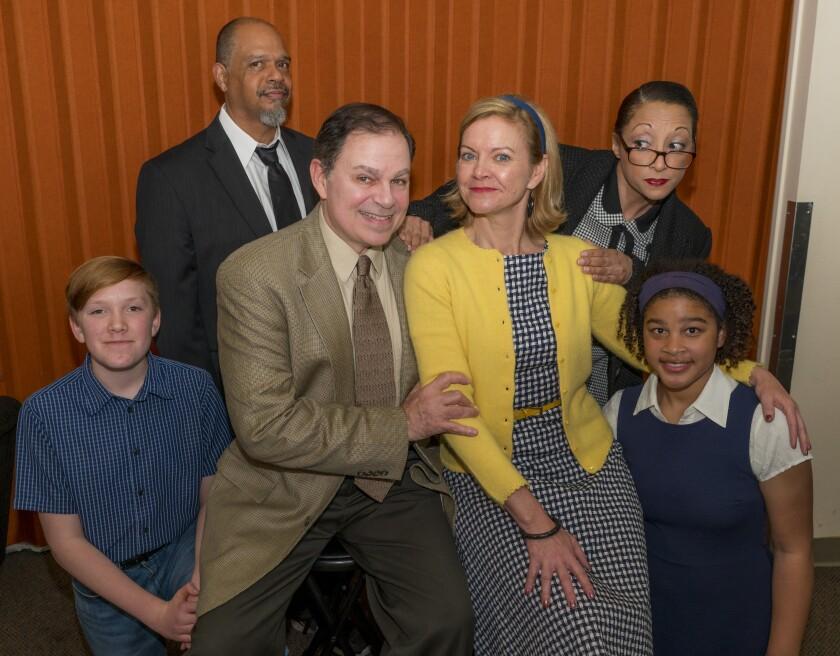 "The cast of ""gUnTOPIA"": Front Row - Levi Laddon, Phil Johnson, Lisel Gorell-Getz, Ava Harris Back Row _ Walter Murray, Vanessa Milton"