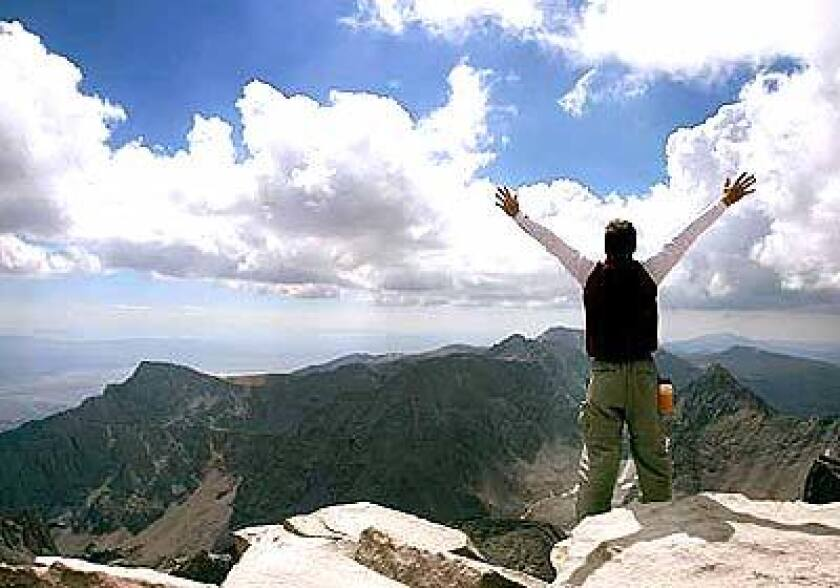 Slogging up the highest peak in the contiguous U.S. allows us to reach for something larger than ourselves.