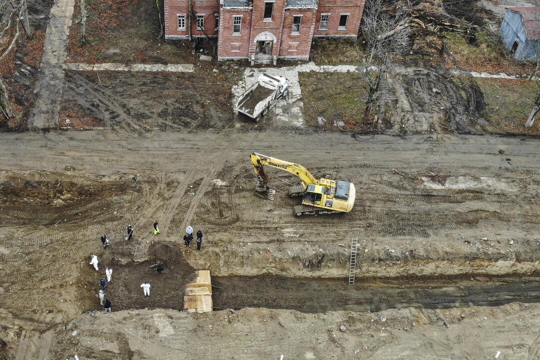 New York public burials on Hart Island
