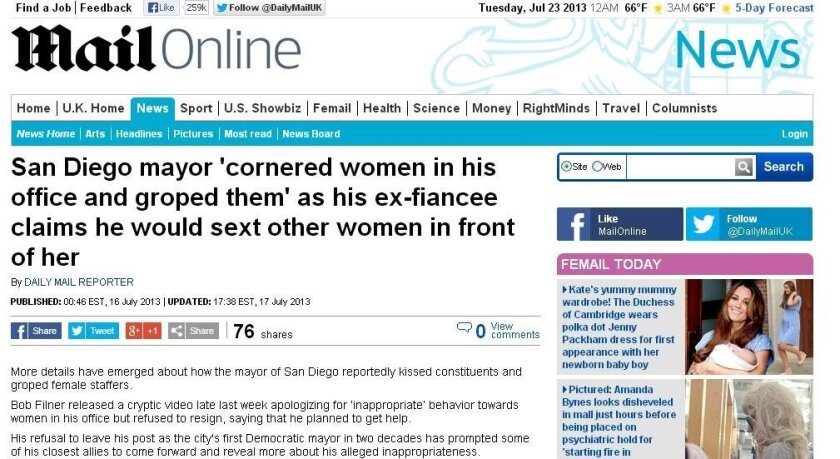 The Daily Mail is never one to hold back on a headline.