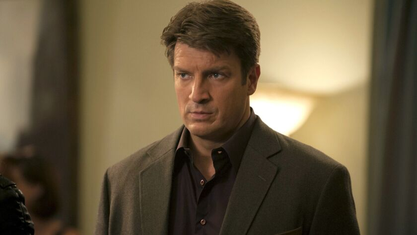 "Nathan Fillion in ""Castle"" on ABC."