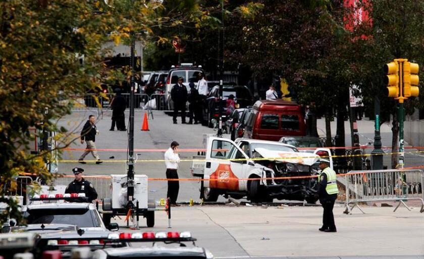 Saipov, que migró a EE.UU. en el 2010, perpetró un atropello múltiple que causó ocho muertos, cinco de ellos argentinos, utilizando una camioneta, el 31 de octubre el 2017. EFE/Archivo