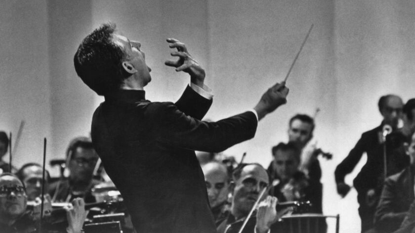 American composer and conductor Leonard Bernstein (1918-1990) brought his passion for classical music to audiences of all ages.