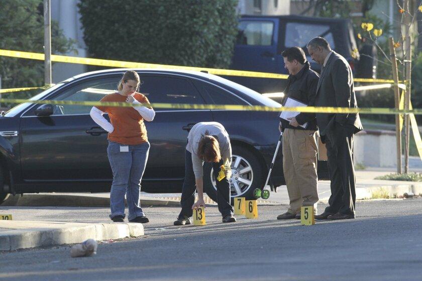 Crime scene: Hillcrest shooting