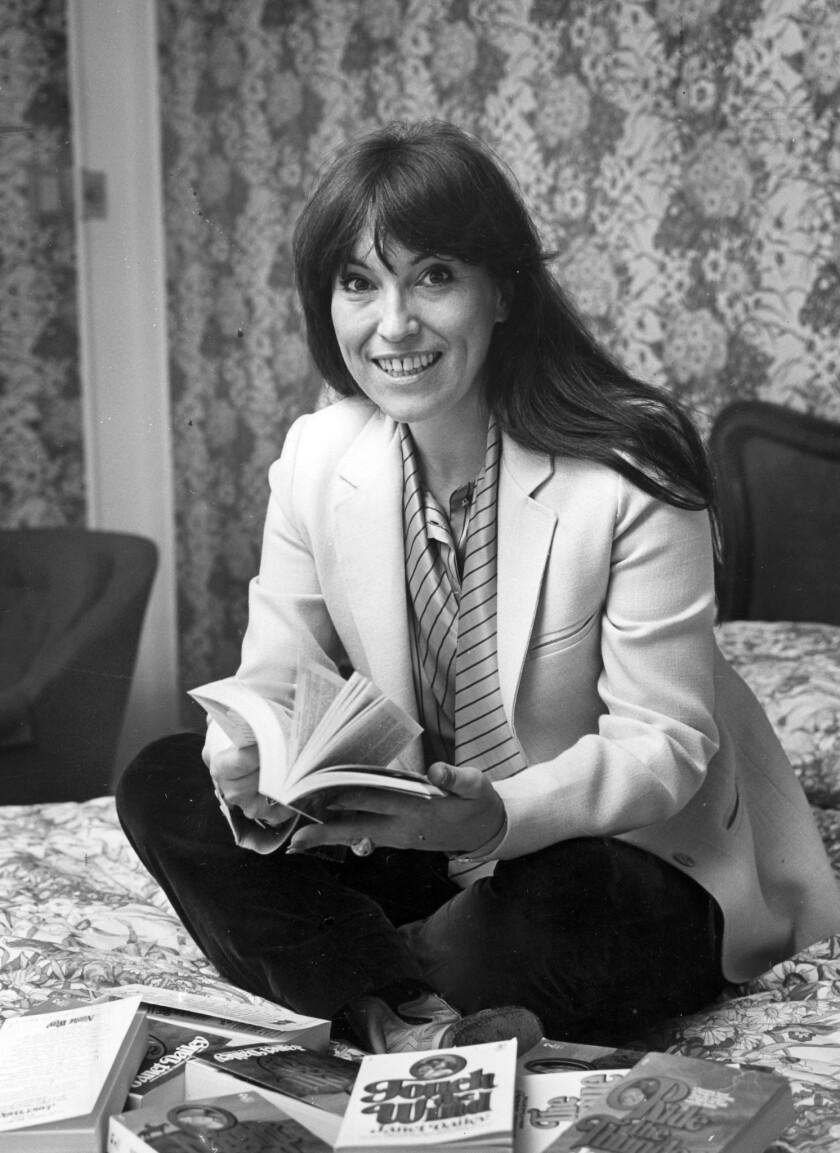"Janet Dailey, shown in 1981, wrote about 100 books in her lifetime, beginning with ""No Quarter Asked,"" which was published in 1974 by romance specialty house Harlequin Enterprises."