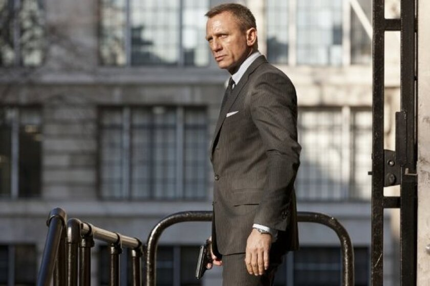 """Daniel Craig stars as James Bond in """"Skyfall,"""" which had a huge opening weekend at the box office."""