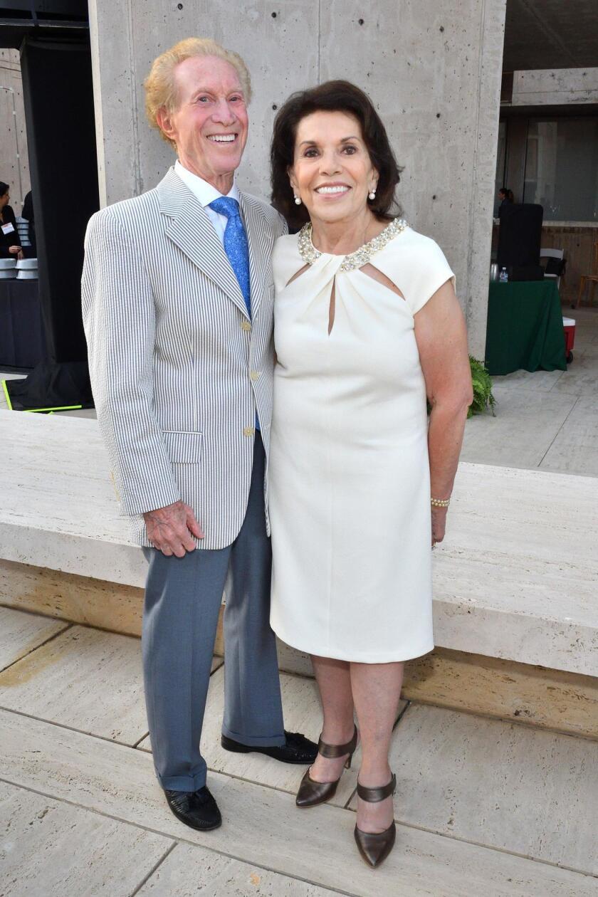 Bob Rubenstein and Marie Raftery