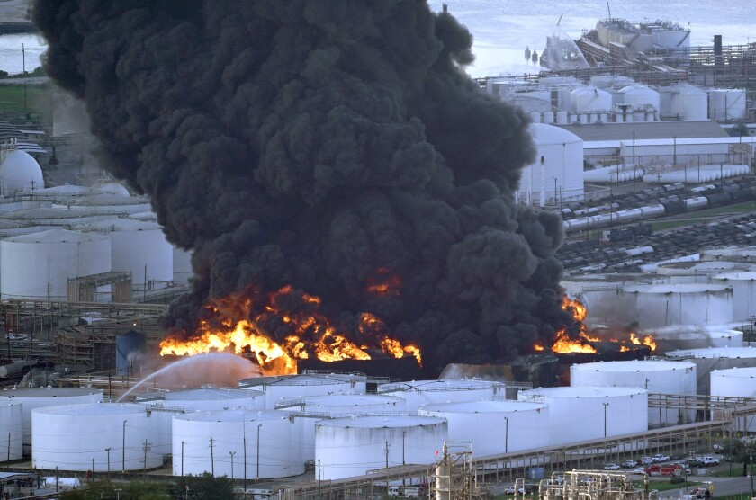 Petrochemical-Fire-Texas