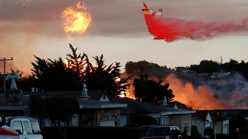 A massive fire following the explosion of a Pacific Gas & Electric pipeline in San Bruno, Calif., left eight people dead in 2010.
