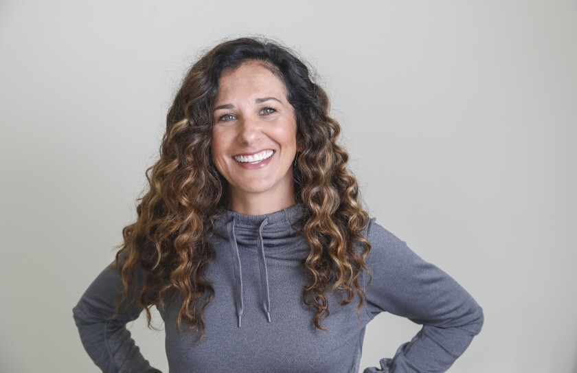 Kate Nowlan, vice president of strategic initiatives for Hylete and president of the Graced By Grit Foundation, which provides scholarships to female college athletes.