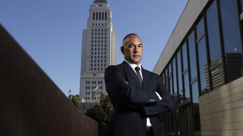 Matt Johnson is stepping down from the Los Angeles Police Commission this month after spearheading major changes to reduce deadly shootings by police officers and share videos of shootings with the public.