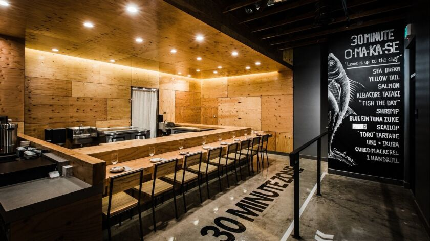 New Convoy sushi bar Hidden Fish goes all-in on omakase