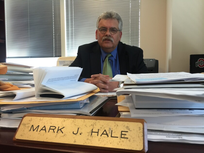 Mark Hale, chief of the Brooklyn district attorney's Conviction Integrity Unit.