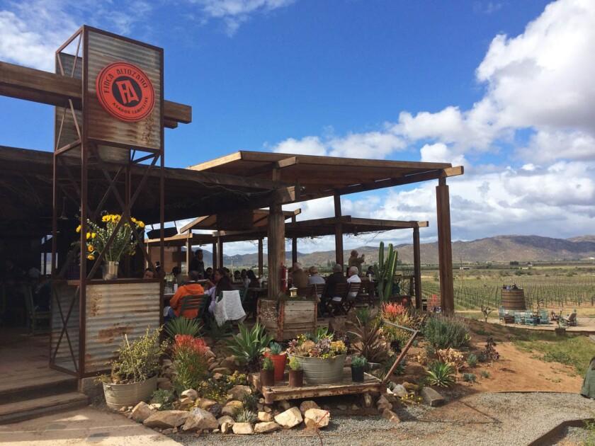 Finca Altozano Restaurant. (Courtesy of Baja Test Kitchen)