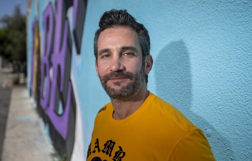 Mike Asner, creator of the KobeMural Instagram maps and KobeMural.com.