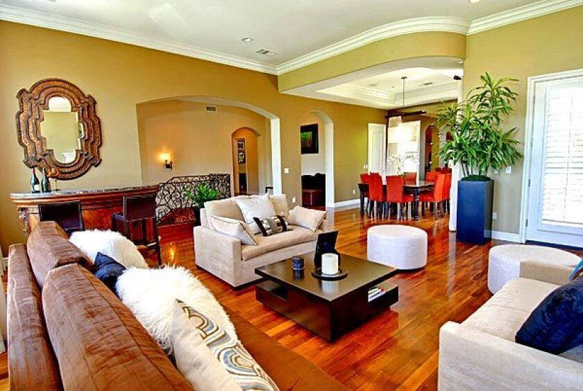 TV game show host Wayne Brady has put his Sherman Oaks home on the market.