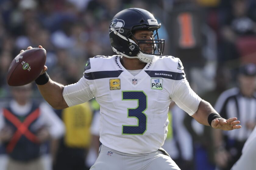 Seattle Seahawks quarterback Russell Wilson has been a model of consistency at his position in fantasy football.