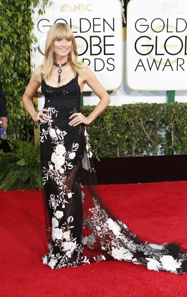 Golden Globes 2014 worst dressed: Heidi Klum
