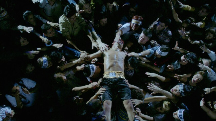 """Rodrigo Romero in a scene from """"El Porto, Lo Mejor del Amor."""" Credit: Netflix"""