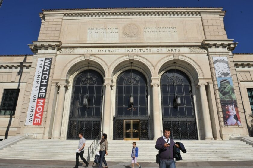 "Detroit's creditors are calling for a wide range of options to ""monetize the art"" held by the city-owned Detroit Institute of Arts."