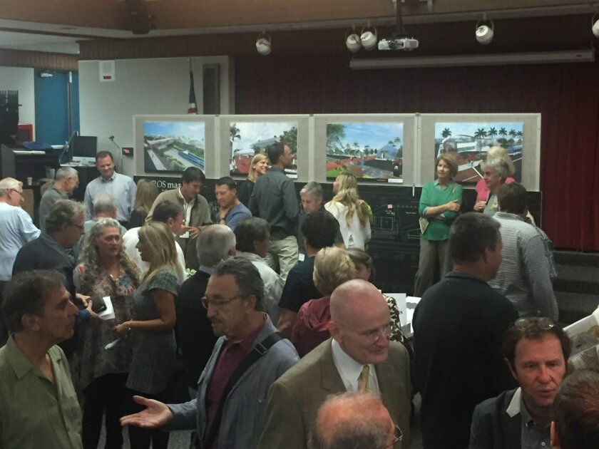 Four prospective developers presented their ideas for the site during a Nov. 19 workshop at Solana Vista School and a Nov. 21 workshop at Skyline Elementary School.