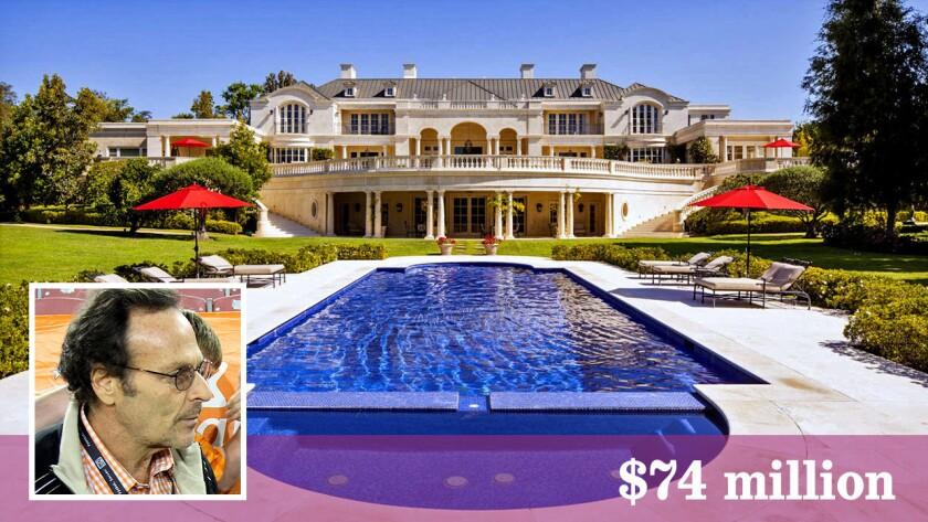 Gabriel Brener has sold his Westside estate for $74 million.