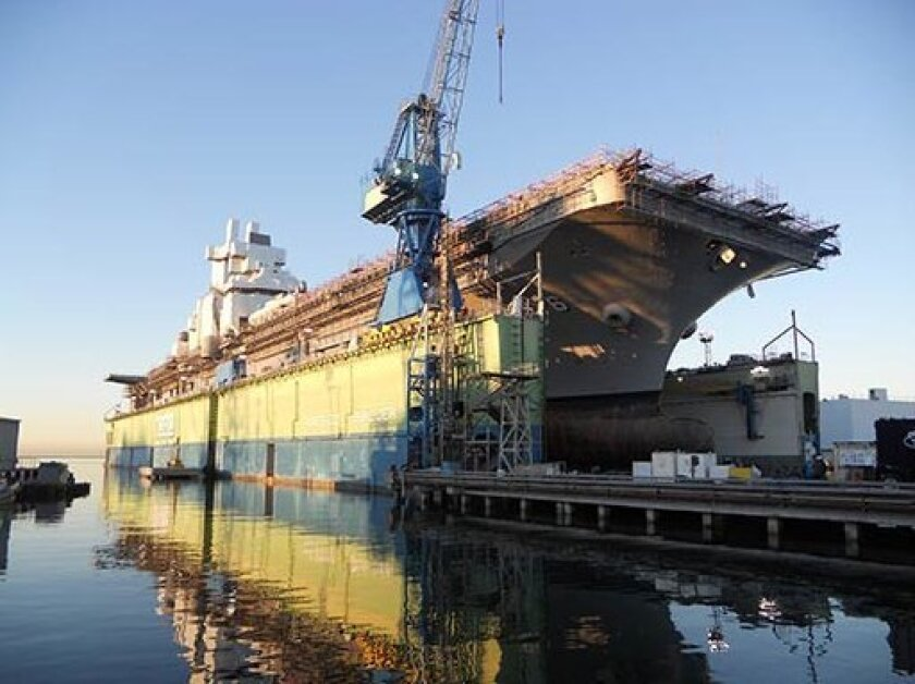 NASSCO performed a major overhaul of the amphibious assault ship Bonhomme Richard two years ago.