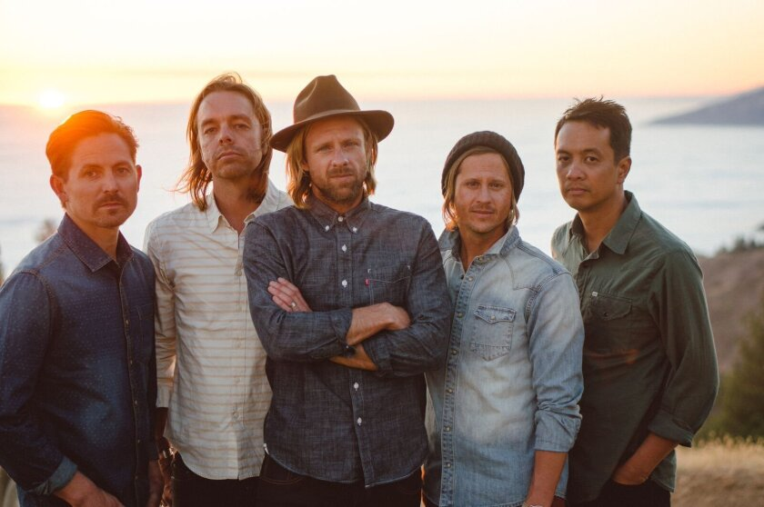 """Switchfoot plays at the Switchfoot Bro-Am surf contest and concert on July 11: """"We're a rock band, we travel the world and play music, but we have a heart for our own community."""""""